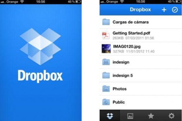 5 Apps almacenamiento en la Nube - Dropbox...