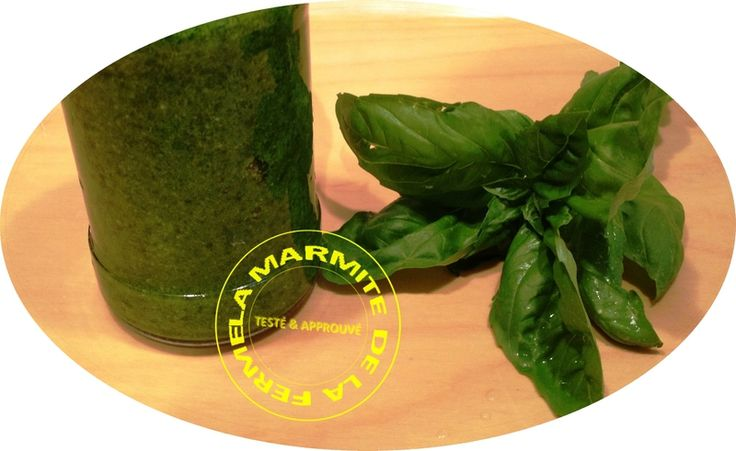 Sauce Pesto au Basilic (Thermomix)