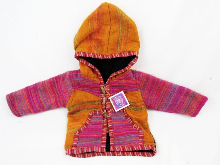 Little gnome baby jacket