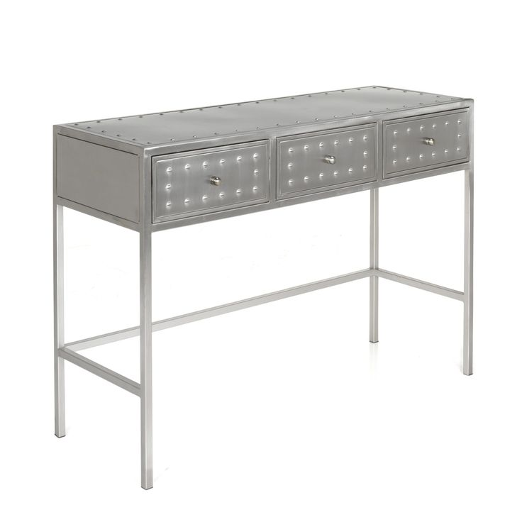 1000 images about meubles maison on pinterest metals - Console table a manger ...