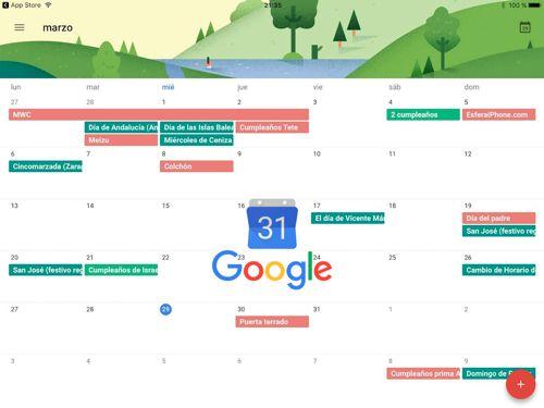 Google Calendar por fin se puede instalar en el iPad con su app nativa   Google Calendarpara iOS es uno de los gestores de calendarios por excelencia en la App Store. Su simplicidad y compatibilidad con más servicios de terceros hacen de el un gran gestor en el iPhone y ahora también en el iPad.  La aplicaciónse ha actualizado en la App Storepara dar soporte a las grandes pantallas (incluso al iPad Pro de 129 pulgadas). Se puede descargar de manera gratuita y no cuenta con compras in-app. A…