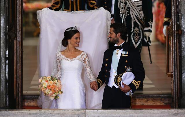 Carl Philip e la ex modella Sofia Hellqvist #wedding