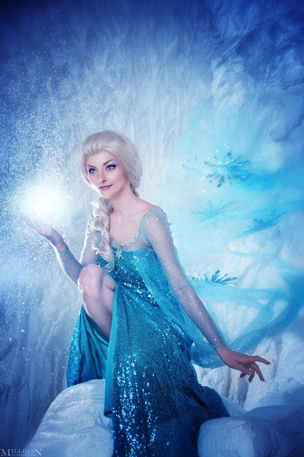Elsa - Ready to see some magic? by MilliganVick.deviantart.com on @DeviantArt