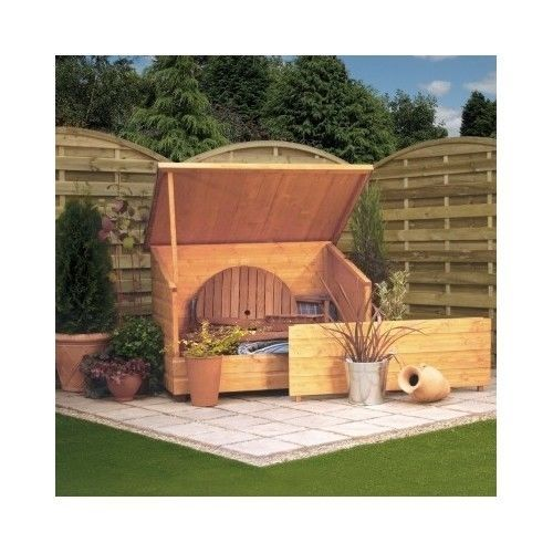 Wooden-Garden-Chest-Shed-Box-Storage-Patio-Outdoor-Large-Lifting-Lid-Panel-Tool
