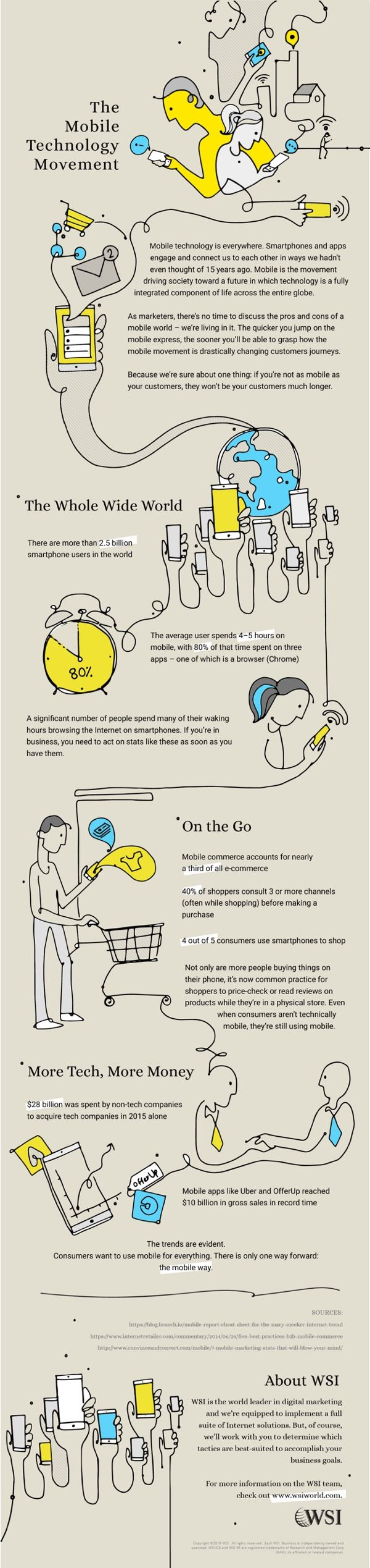 The Mobile Technology Movement #Infographic #Mobile #Technology