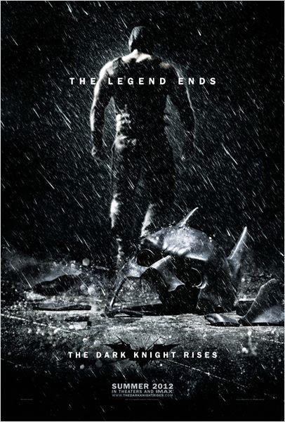 Cartel El Caballero Oscuro: La leyenda renace  #Sensacine #TheDarkKnightRises #Bane #ChristianBale #TomHardy