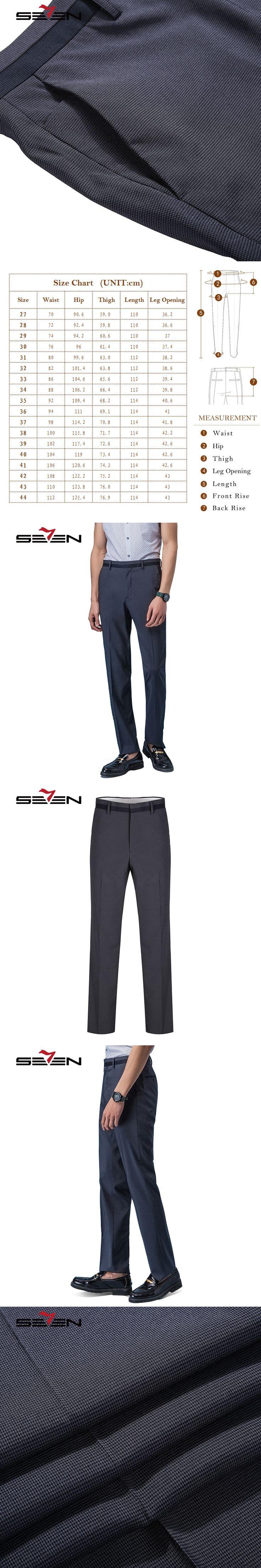 Seven7 2017 New Spring Autumn Fashion Slim Fit Men Casual Dress Pants Straight Men Business Trousers Skinny Suit Pants 708B77201