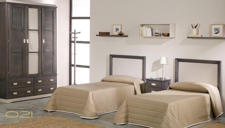 Dormitorio juvenil contemporáneo. #hogar #decoracion   mdminteriorismo.es