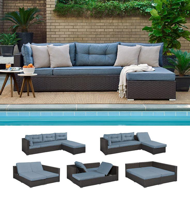 Best 25+ Outdoor futon ideas on Pinterest | Pallet futon ...