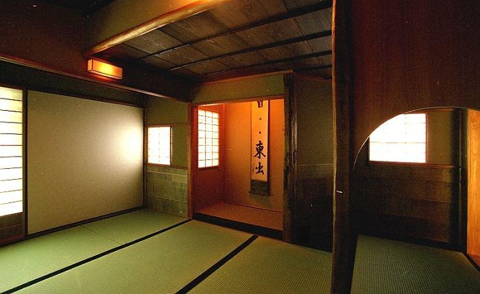 Tea ceremony room  Kyoto,Japan 小間 如庵写し 床