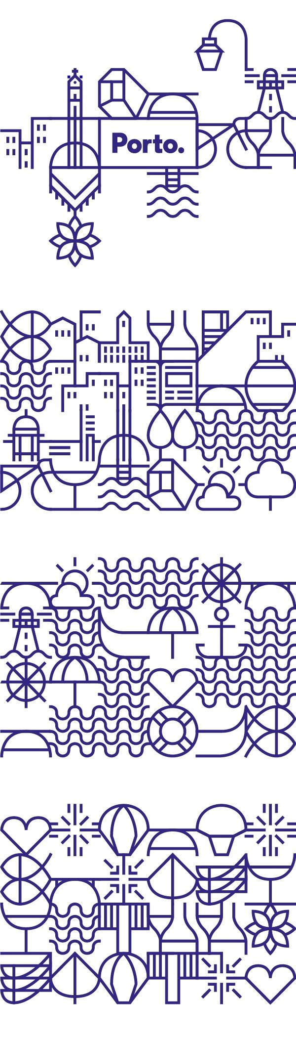 New identity for the city of Porto on Behance — Designspiration