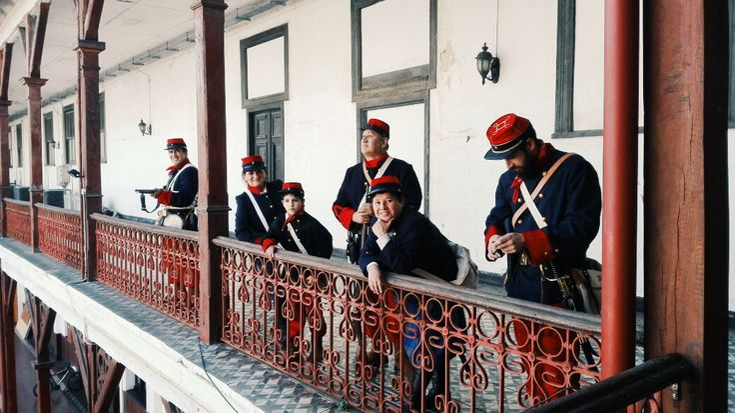 """Nuestra agrupación """"Aconcagua"""". Museo Naval, Valparaiso, Chile"""