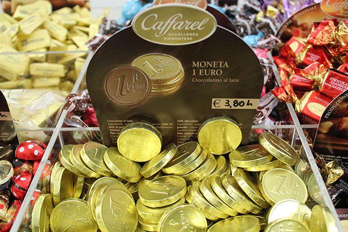 Cioccolatini MONETA 1 EURO Caffarel - http://www.caffeciok.it/wp001_caffeciok_ecommerce/shop/cioccolata/cioccolatini-moneta-1-euro-caffarel/