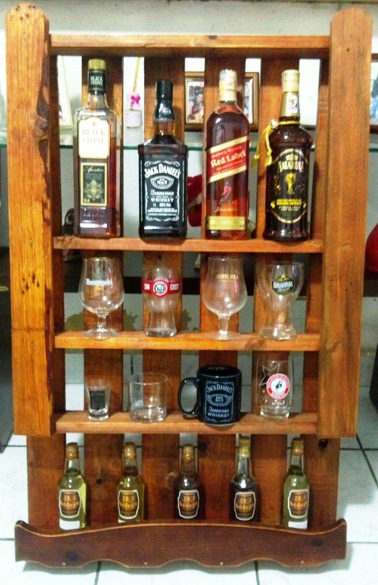 Estante de Bebidas #PalletBar