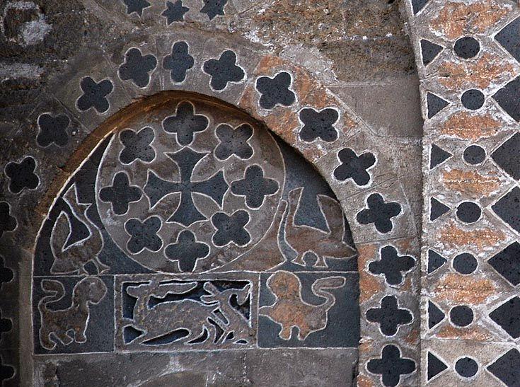 ВИЗАНТИЯ В КАРТИНКАХ - Орнаменты алтарной части Кафедрального собора в Палермо