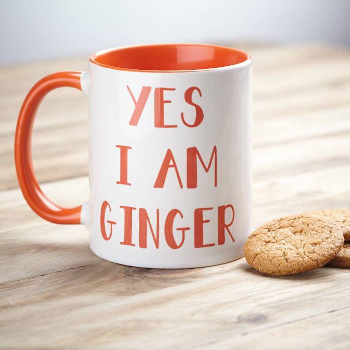 Yes I Am Ginger Mug