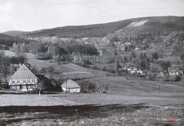 Dzielnica Szklarska Poręba Średnia (Mittelschreiberhau), Szklarska Poręba - 1962 rok, stare zdjęcia #Schreiberhau #Hallmann