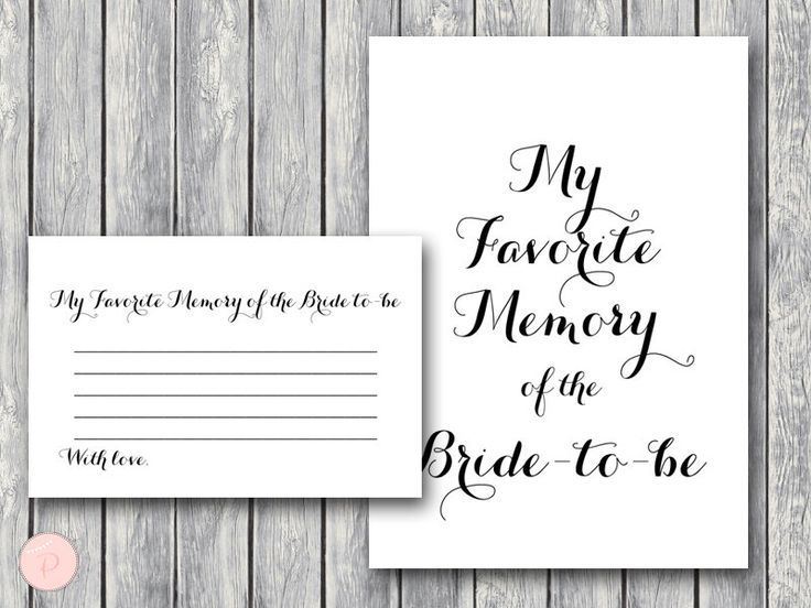 Favorite Memory of the Bride to-be, Memory Lane Game, Engagement Party Game, Bridal shower Game Printable, Download TG00 game by BrideandBows on Etsy https://www.etsy.com/listing/475319855/favorite-memory-of-the-bride-to-be