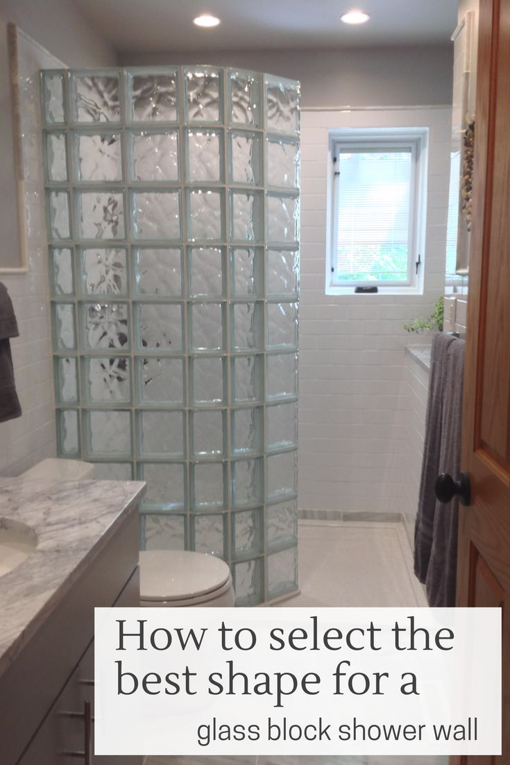 242 Best Glass Block Showers Images On Pinterest Glass