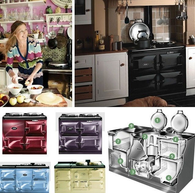 AGA stoves...The British always on stove/heater..U have to love natural convestion for perfect cooking