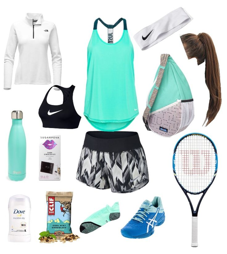 Go to tennis outfit and necessities