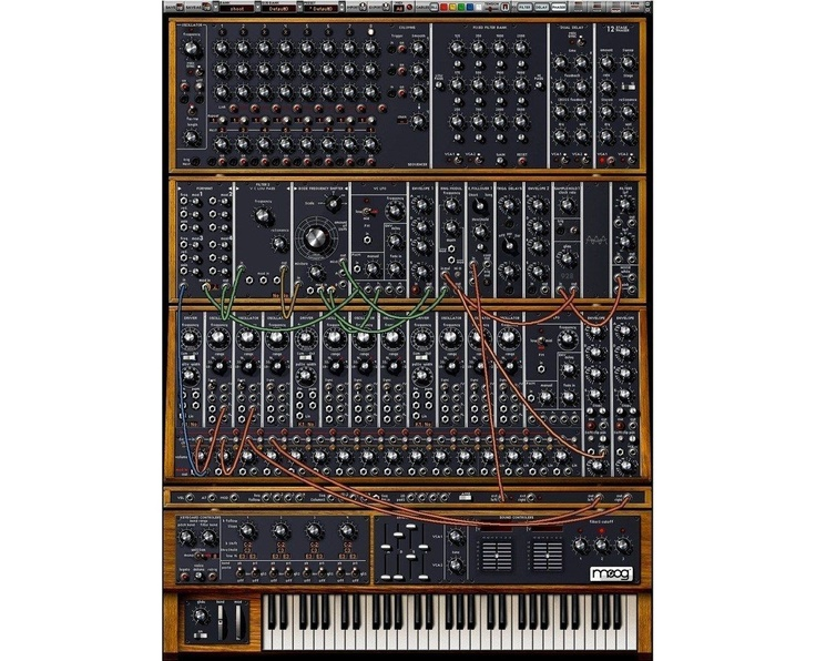 The historical Moog synthetizer