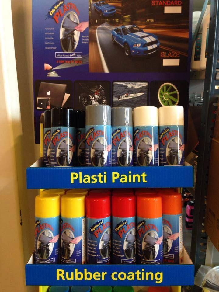 Plastipaint standard och blaze