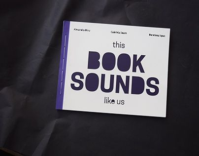 """Check out new work on my @Behance portfolio: """"This book sounds like us""""…"""