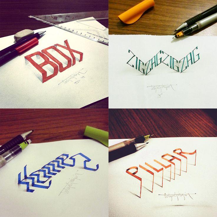 caligrafia 3d 5                                                                                                                                                     Más
