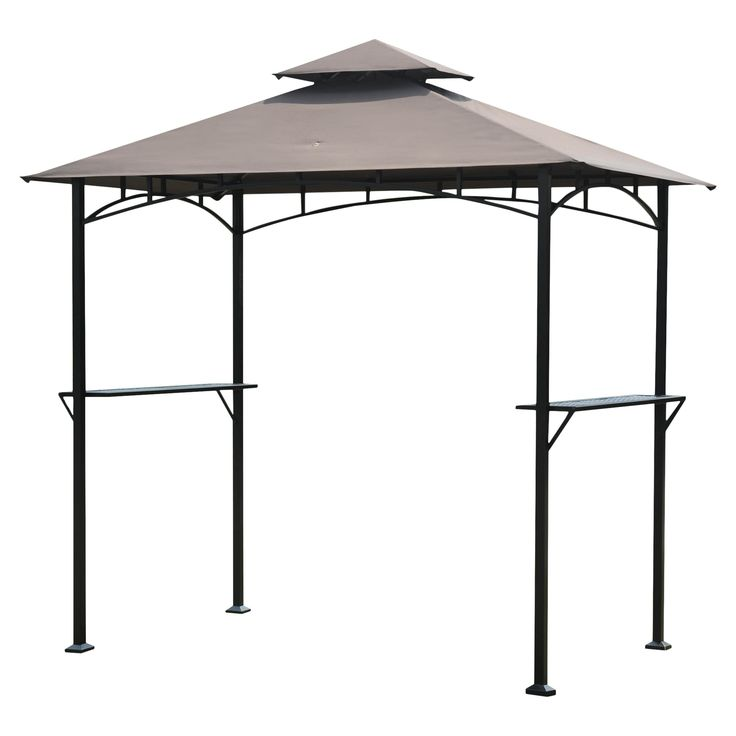 Sunjoy Henley 8 Ft W X 5 Ft D Steel Gazebo Decoracao Founde
