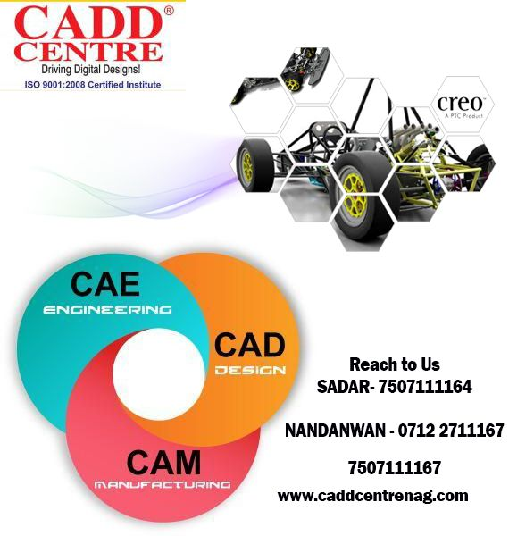 Software training related to CAD/CAM/CAE  in the streams of mechanical, Civil, Electrical & Architecture at caddcentrenag.com center https://www.linkedin.com/pulse/software-training-related-cadcamcae-caddcentrenag-nagpur?published=t