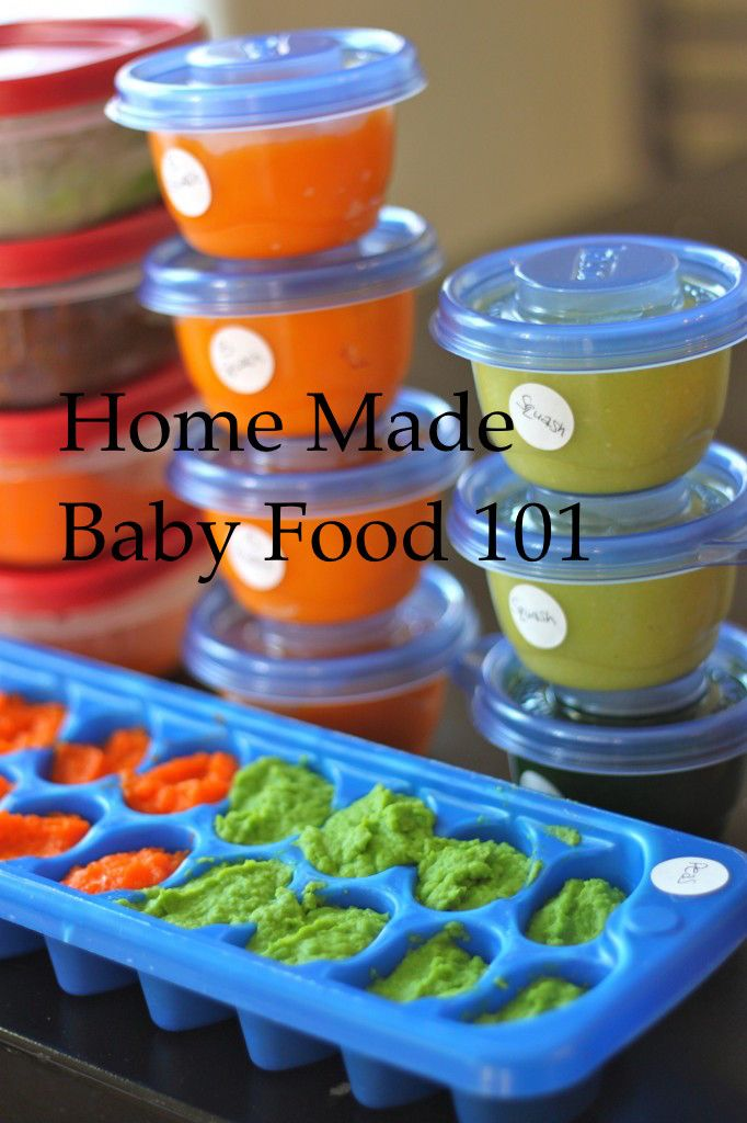Everything you need to know about Homemade Baby Food! From The Diva Dish