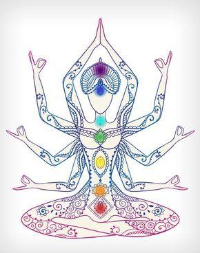Impresión de Chakra Yoga impresión impresión de por ReptiliArt