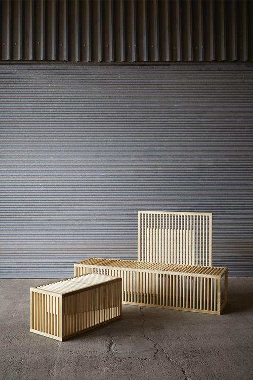 Clarascuro benches - Lilliana Ovalle