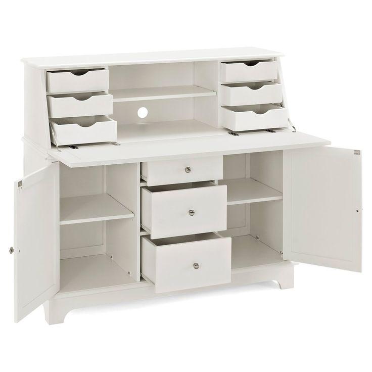 crosley sullivan secretary desk computer armoires at hayneedle