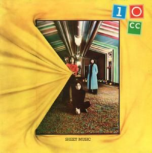 Album of the day 06/08/2013: 10cc Sheet music from 1974 designed by company Hipgnosis creator Storm Thorgerson is part responsible