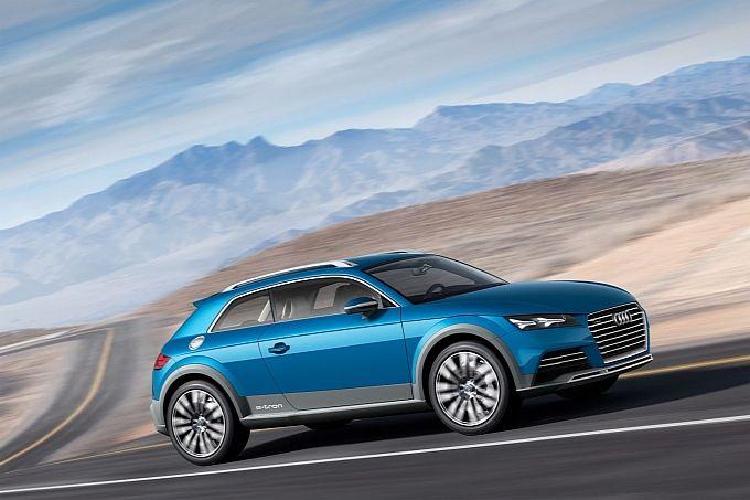 Audi Crossover Coupé Concept