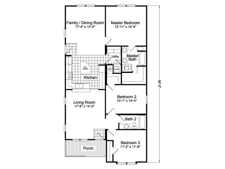 Palm Harbor Homes Floor Plans For A 1525 Sq Ft House In Oklahoma City View The Brazos Your Manufactured Modular Or Mobile Home