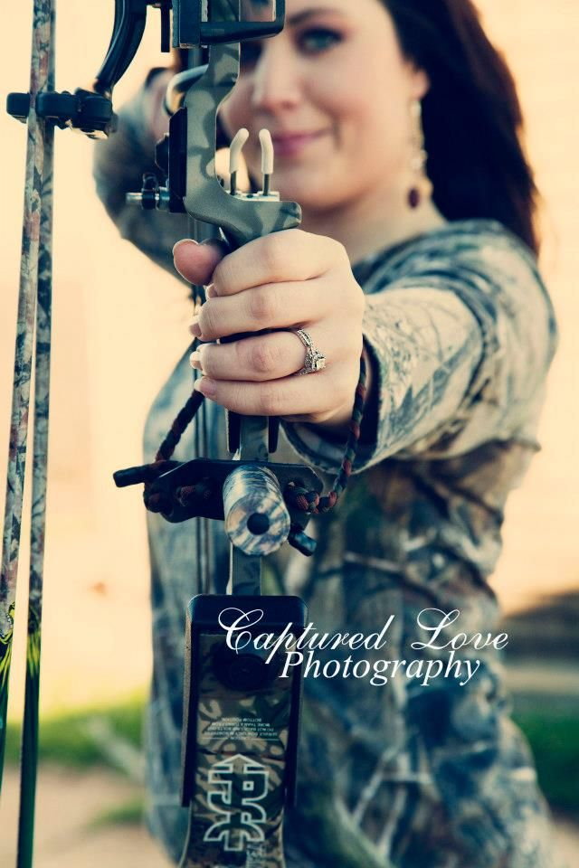 Hunting engagement pics totally want this!! now to just get my wrist better :p  @Dave Thompson