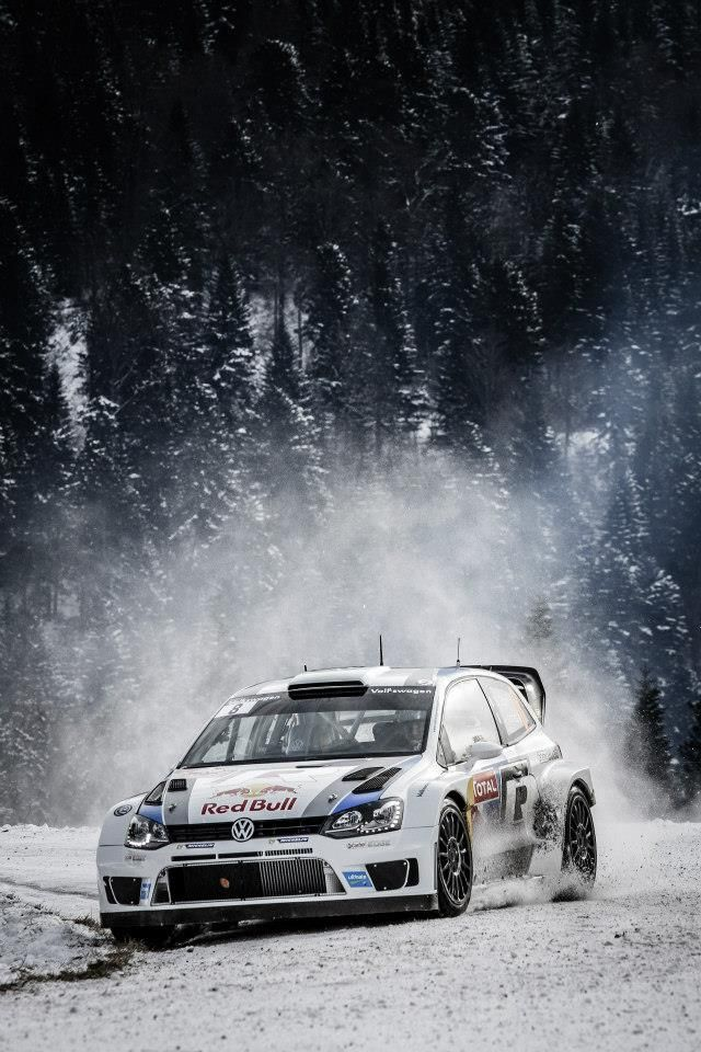 gearheadsandmonkeywrenches:  Volkswagen Polo R WRC.