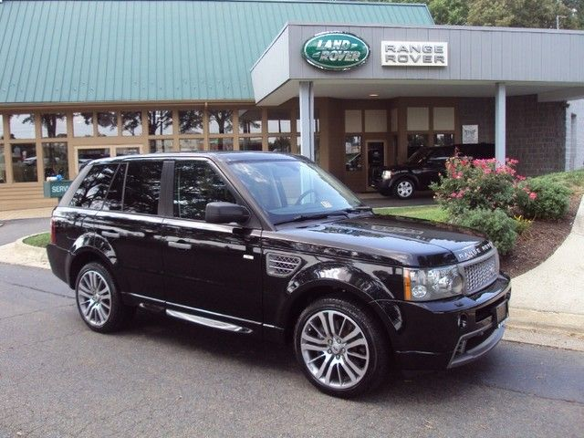 2009 black range rover sport | 2009 Land Rover Range Rover Sport Supercharged HST LTD ED Richmond ...