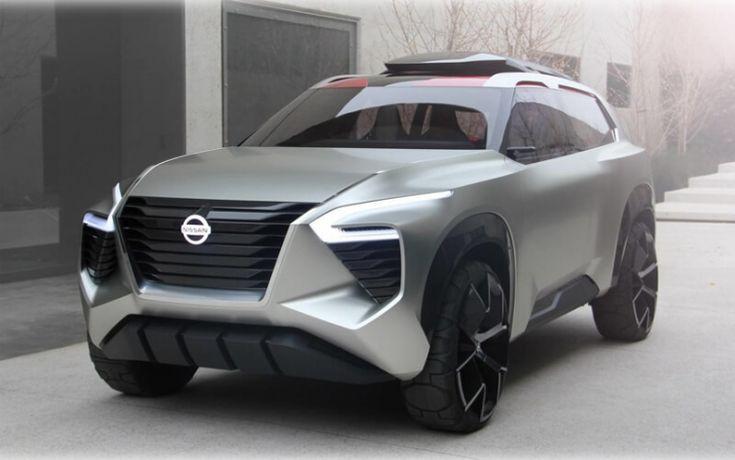 Дебют концептуального кроссовера Nissan Xmotion