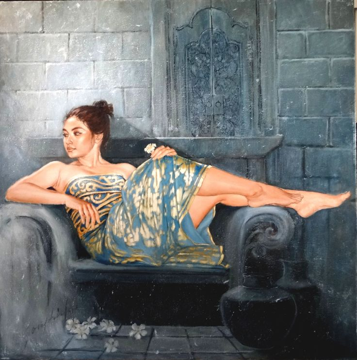 Josephine-Linggar_Blue-Gold-Beauty-IJL-628_2014_oil-on-canvas_-120cm-X-120cm.jpg (3399×3433)