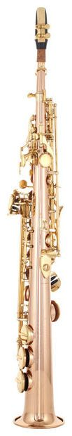 Thomann TSS-350 Soprano Saxophone - high g-key, straight and curved neck