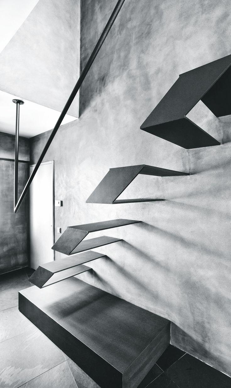 schwebende Treppen