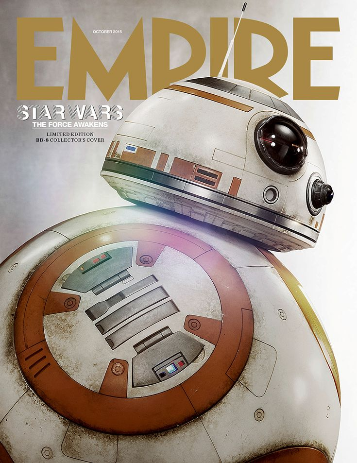 Empire Reveals 'Star Wars: The Force Awakens' Subscriber's Cover