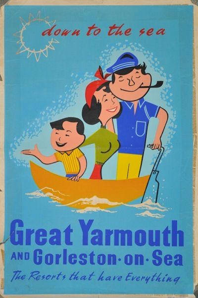 Great Yarmouth, England  (Lived in Burgh Castle...neighboring town to Gt. Yarmouth. Did laundry in Gorleston.