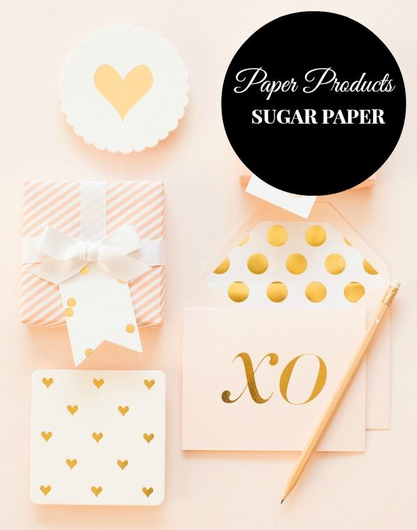 Awesome paper products from Sugar Paper LA