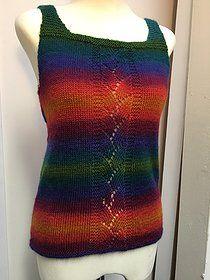 Free knitting pattern Boho Boheme Camisole