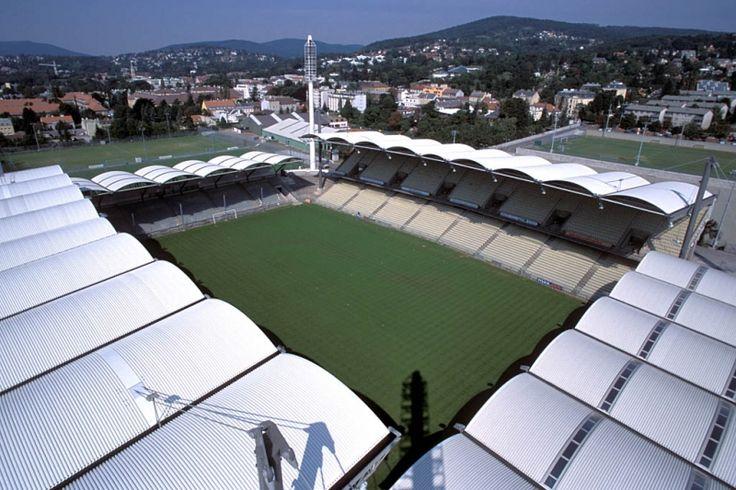 Gerhard-Hanappi-Stadion , Wien in Austria. Home of SK Rapid Wien